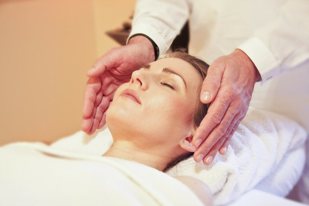 Healing Touch kurser, Healing Touch Behandling