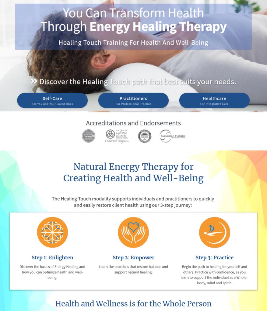 Vad är Healing Touch?